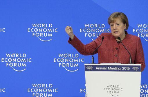 Merkel fordert Reform der globalen Ordnung
