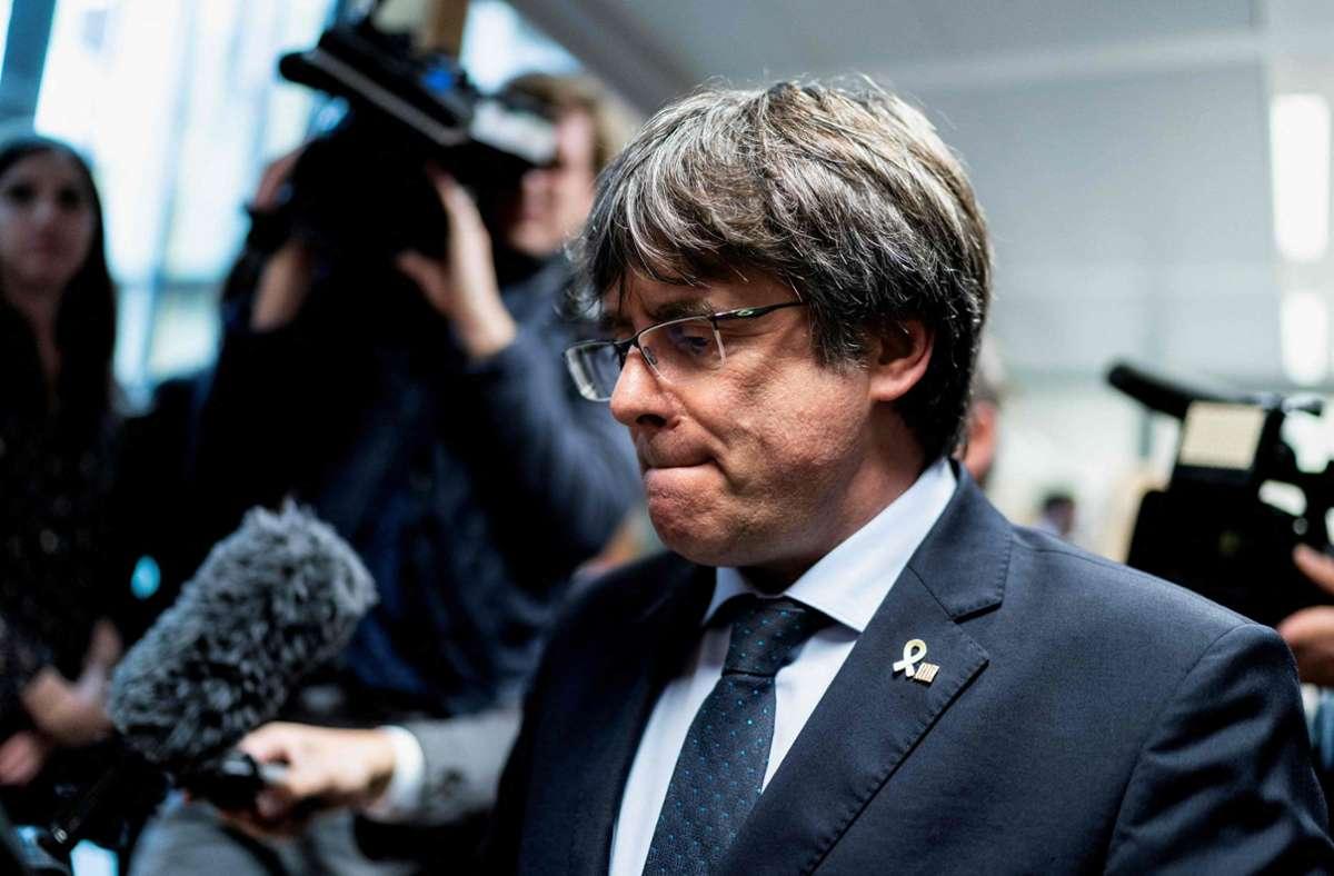 Carles Puigdemont wurde in Sardinien verhaftet (Archivbild). Foto: AFP/KENZO TRIBOUILLARD
