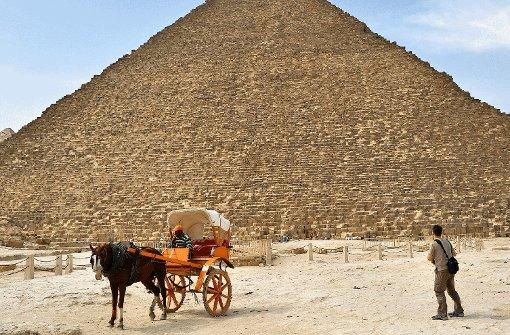 Der Pharao wartet auf Besuch