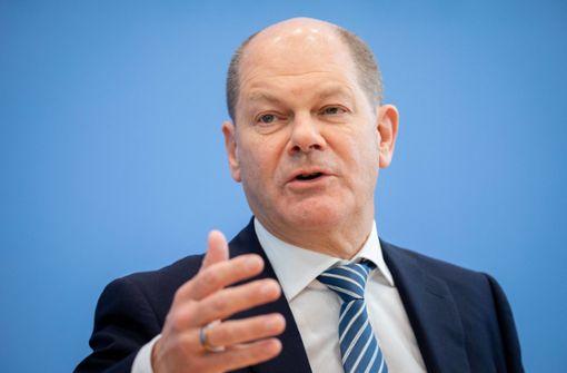Olaf Scholz stellt Partnerin für SPD-Doppelspitze vor