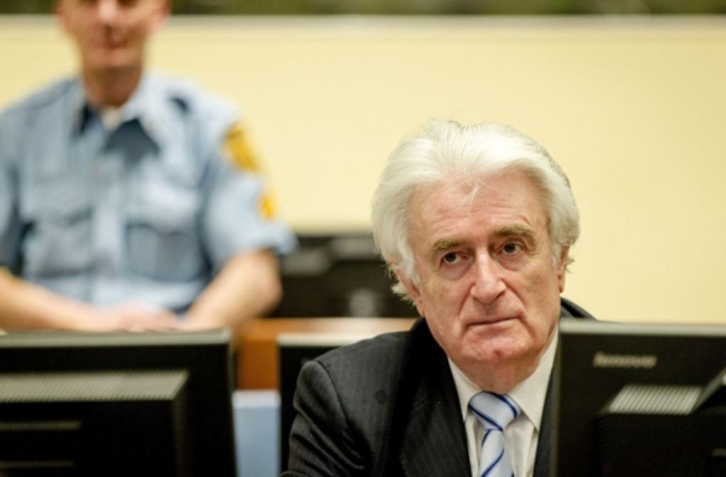 Das Gericht macht Radovan Karadzic für Kriegsverbrechen verantwortlich. Foto: