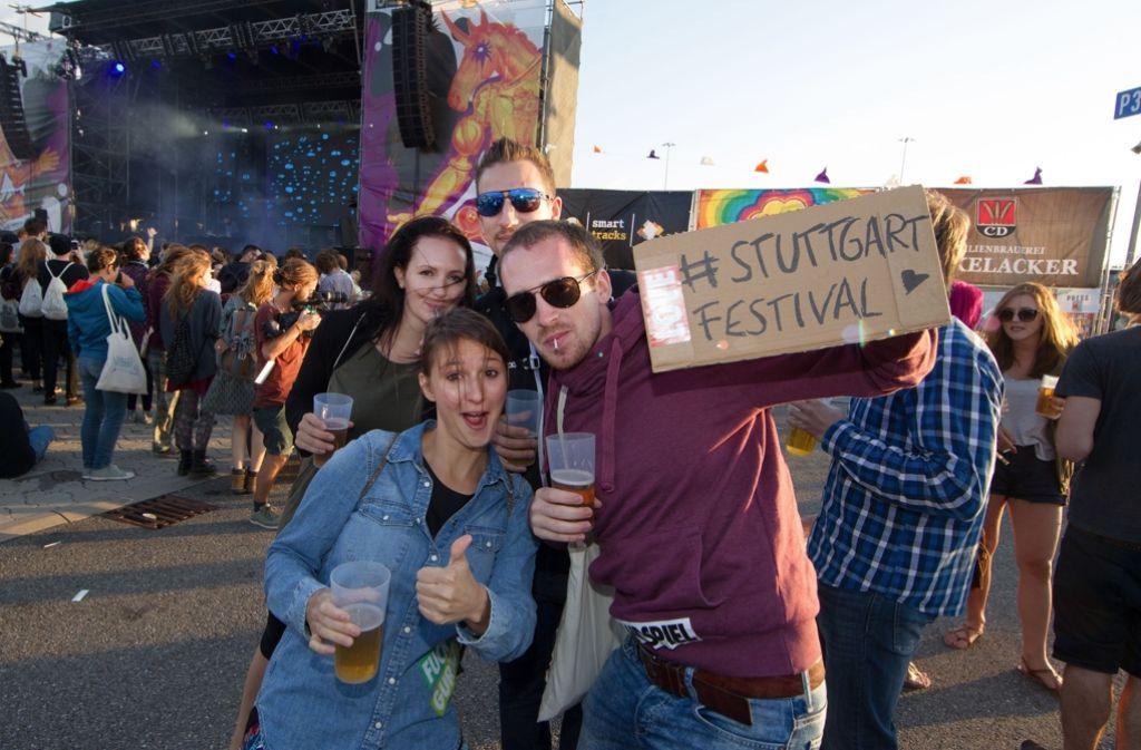 Als die Welt noch in Ordnung war: Eine Impression vom Stuttgart Festival im Jahr 2015. Foto: Christian Hass Stuttgart