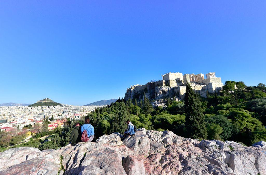 Beste Aussichten: Rund um  die Akropolis herrscht Aufbruchstimmung. Foto: Discover Greece