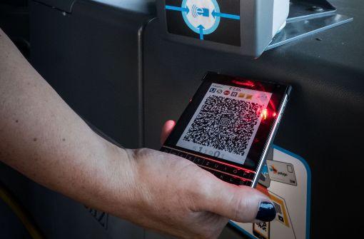 Digitale Fahrscheine sollen Standard werden