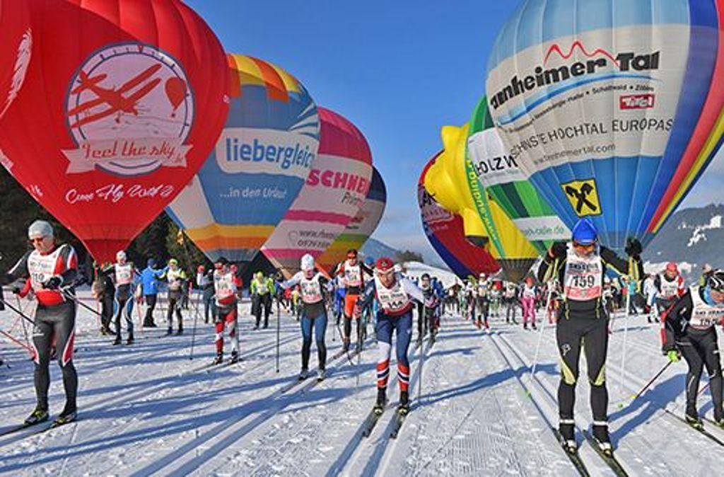 Der grenzüberschreitende Langlauf-Wettbewerb bietet abwechslungsreiche Strecken sowie ein attraktives Rahmenprogramm. Foto: ARGE SKI-TRAIL/Rolf Marke/Keller Michael