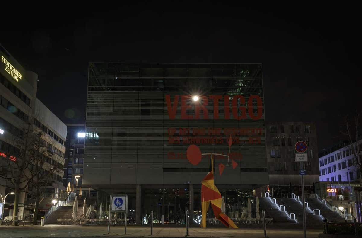 Im vergangenen Jahr beteiligten sich in Stuttgart bereits  verschiedene Einrichtungen an der Earth Hour. Foto: Lichtgut/Julian Rettig