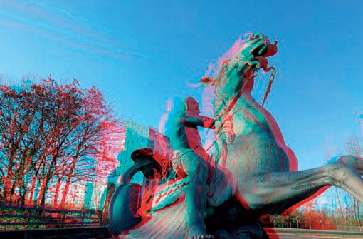 Stereobilder: Renaissance im Sog der 3-D-Filme