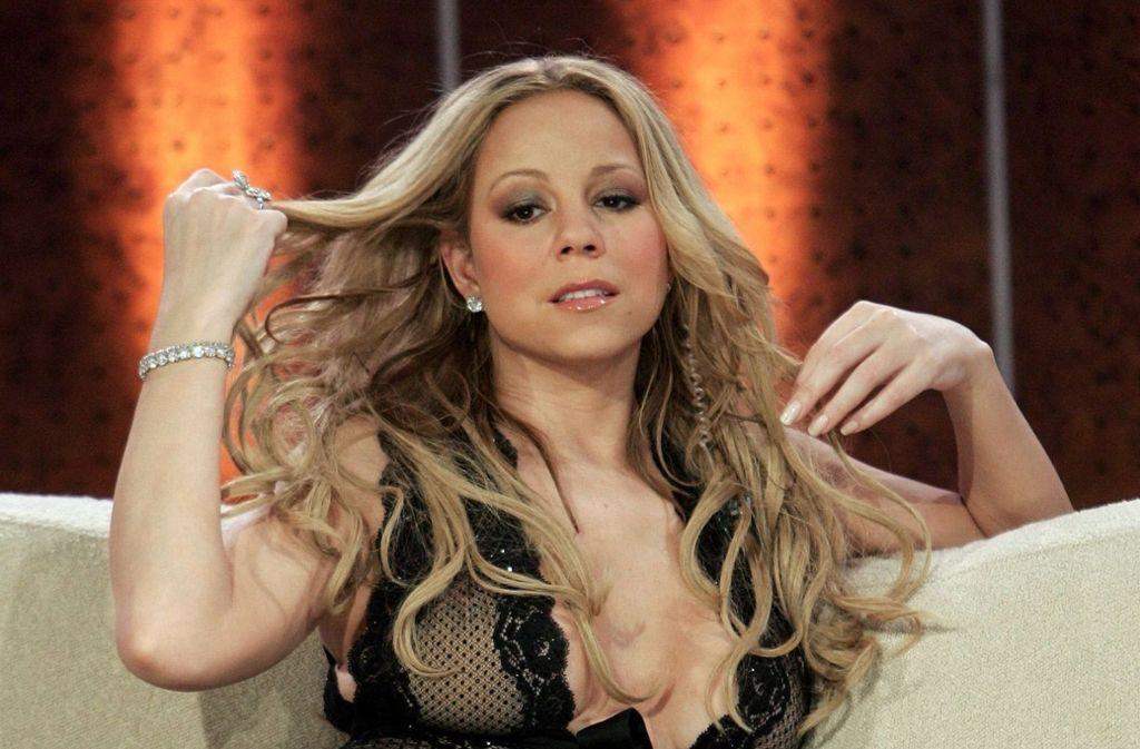 Mariah Carey: Der Weltstar ist auf jedem roten Teppich ein Blickfang. Foto: dpa-Zentralbild