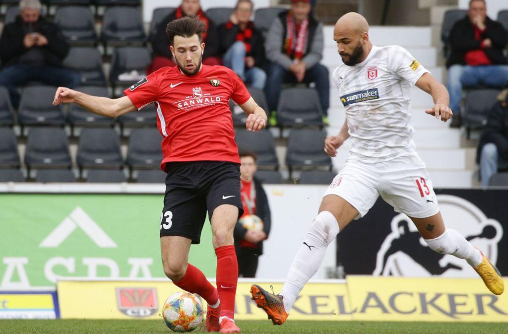Die 3. Liga wird auch in der kommenden Saison eingleisig bleiben. Foto: Pressefoto Baumann/Hansjürgen Britsch