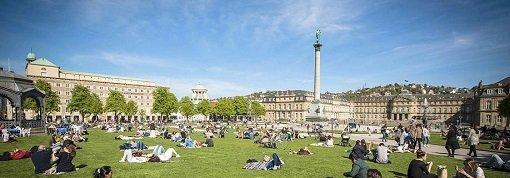 Sommer, Sonne, Stuttgart