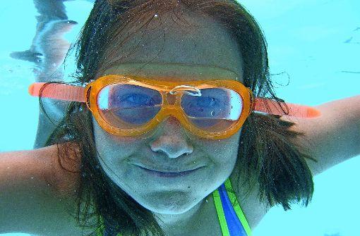Schwimmen will gelernt sein