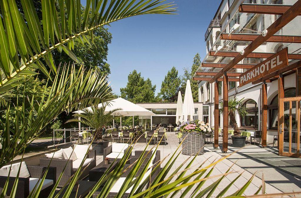 Das 4 Sterne Parkhotel Jordanbad mit über 9.000m² Therme & Wellness  Foto: Parkhotel Jordanbad Lerch GmbH