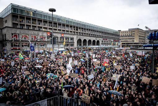 Kundgebung am Hauptbahnhof ist beendet