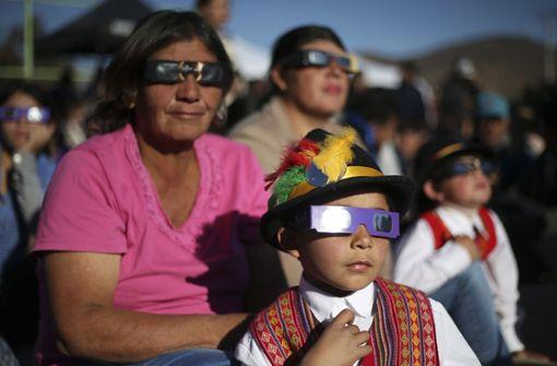 Zehntausende beobachten Himmelsspektakel in Südamerika