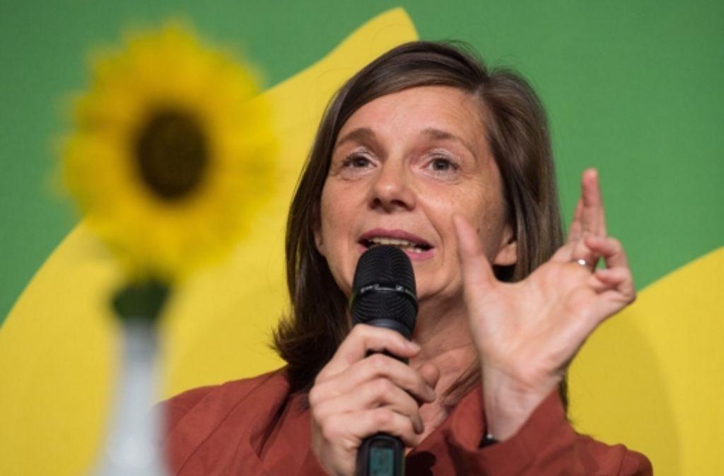Katrin Göring-Eckardt hat den CDU-Kandidaten Guido Wolf heftig attackiert. Foto: dpa