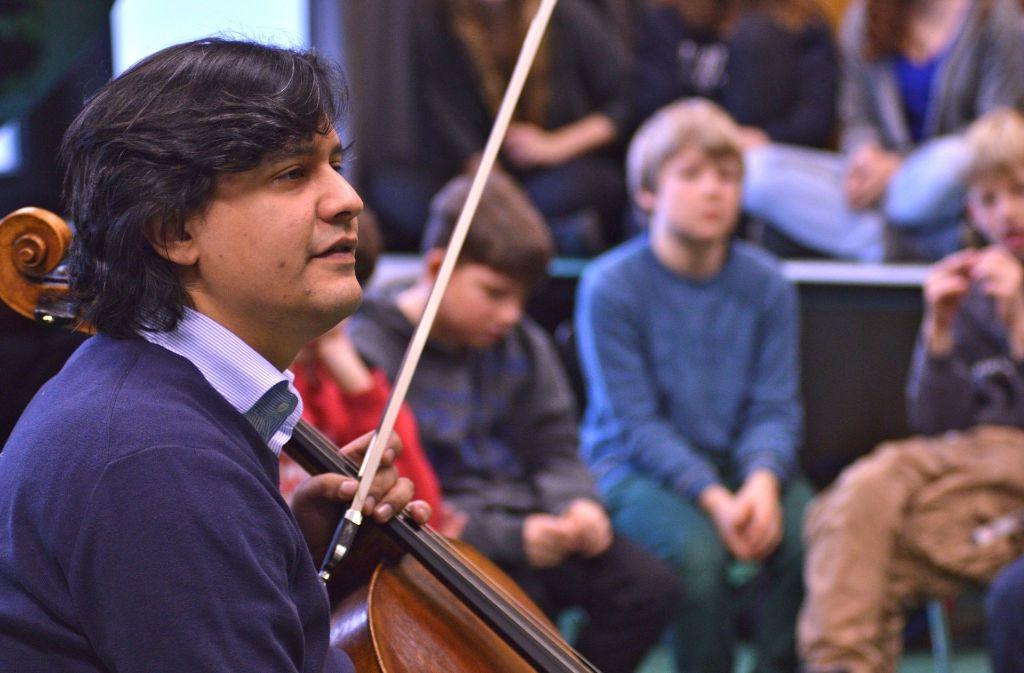Auch in diesem Jahr bringen die Solisten ihre Musik den Winnender Schülern näher. Foto: Veranstalter