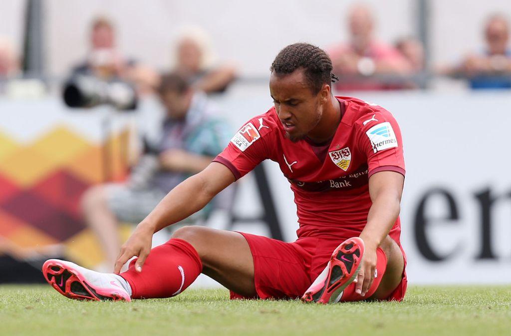 Jerome Kiesewetter im VfB-Dress Foto: Baumann/Julia Rahn