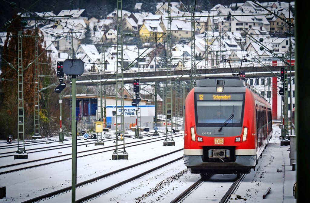 Der Verband Region Stuttgart will mehr S-Bahnen auf die Schienen bringen. Foto: Lichtgut/Achim Zweygarth