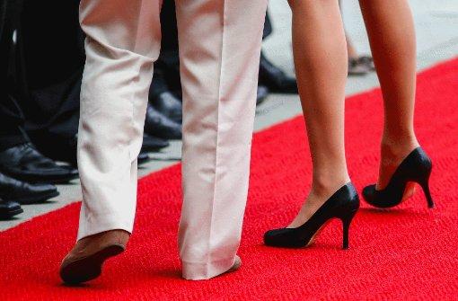 Ein roter Teppich für Kandidaten