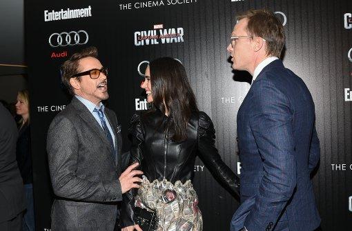 Marvel-Helden feiern erfolgreichen Kinostart
