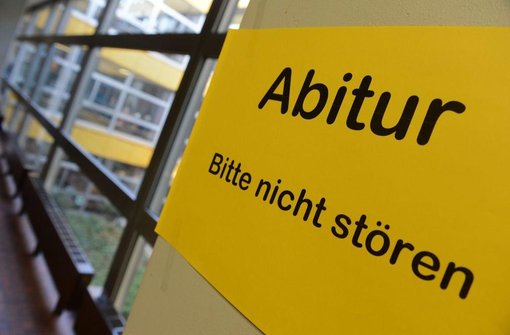 Die Einbrecher in einem Stuttgarter Gymnasium waren wohl keine Schüler. (Symbolfoto) Foto: dpa