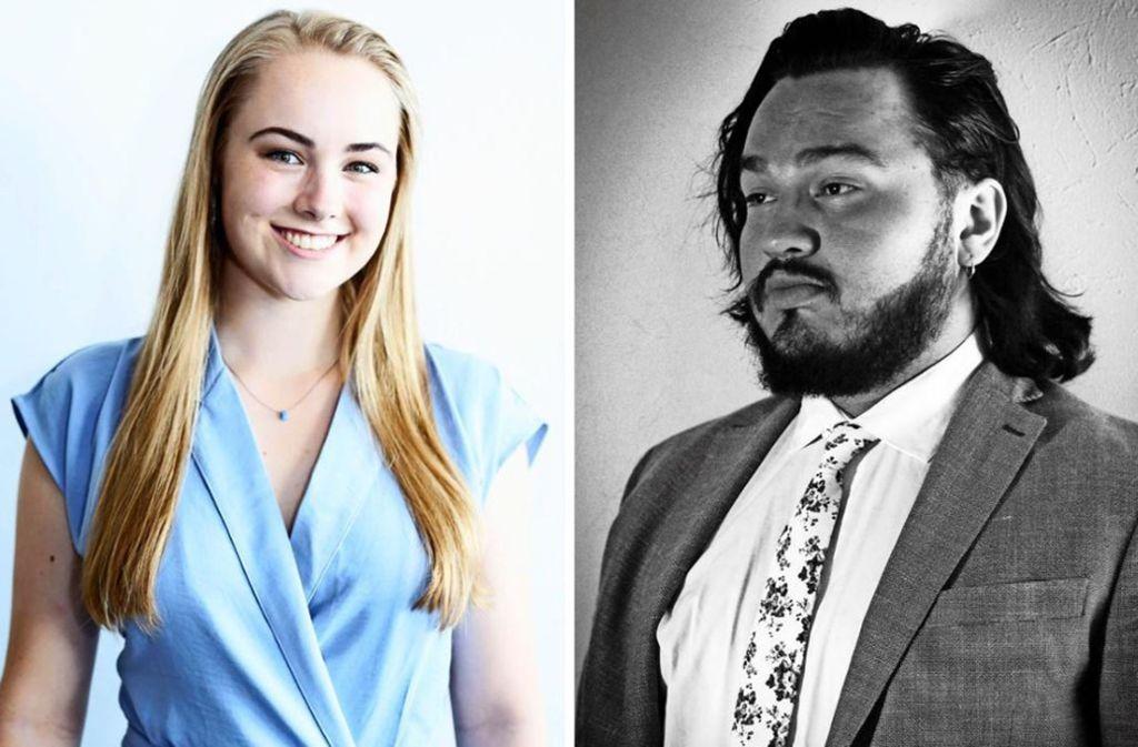 Die Sopranistin Lauren Urquhart und der Bariton Andres Cascante reisen demnächst   nach Waiblingen. Für ihn ist es der erste Deutschlandbesuch. Foto: privat