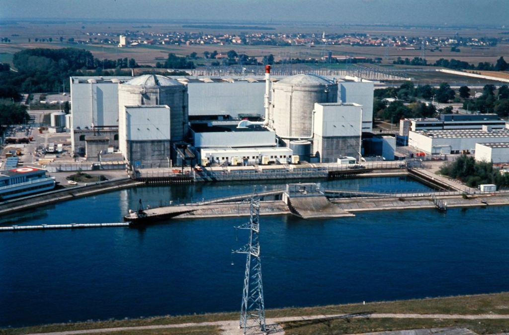 Die beiden Druckwasserreaktoren in Fessenheim sind die ältesten Kernkraftwerke Frankreichs. Foto: AFP