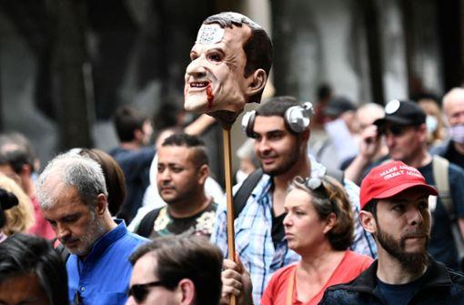 Macron wird wieder beliebter