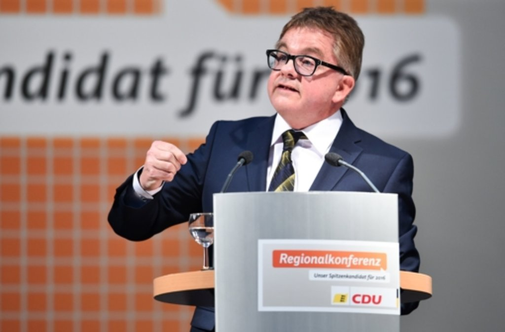 Guido Wolf hat den CDU-Fraktionsvorsitz erobert - auf Kosten von Peter Hauk? Foto: dpa