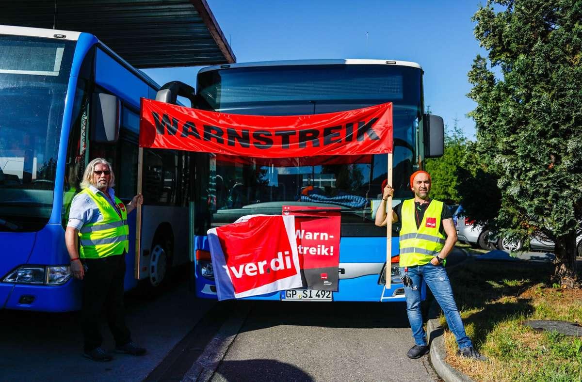 Eventuell drohen in Baden-Württemberg Warnstreiks im Busverkehr. Foto: 7aktuell.de/Christina Zambito