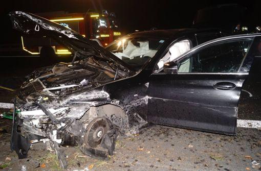 Unfall mit vier Verletzten – Baby ungesichert im Auto