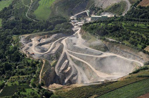 Mehr Platz für Steinbrüche in der Region?