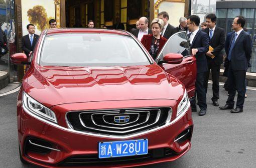 Geely  will  Automarkt in Europa aufmischen