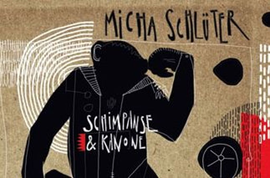 Das Cover des Micha-Schlüter-Albums Schimpanse & Kanone Foto: Timezone Records