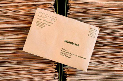 Die Briefwahl ist für die CDU nur zweite Wahl
