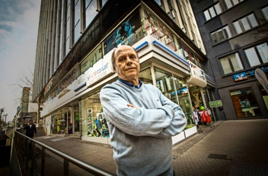 Dem Geschäft von Gerd Riehm steht ein Umzug wider Willen bevor. Foto: Lg/Leif Piechowski