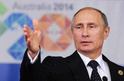 Putin will nicht mit G7 zusammenarbeiten