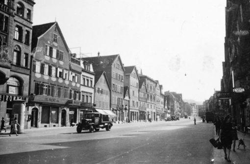 Die autogerechte Stadt wurde schon 1942 geplant