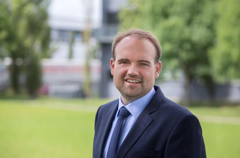 Martin Funk (34) ist seit sieben Jahren Bürgermeister in Ohmden. Foto: privat
