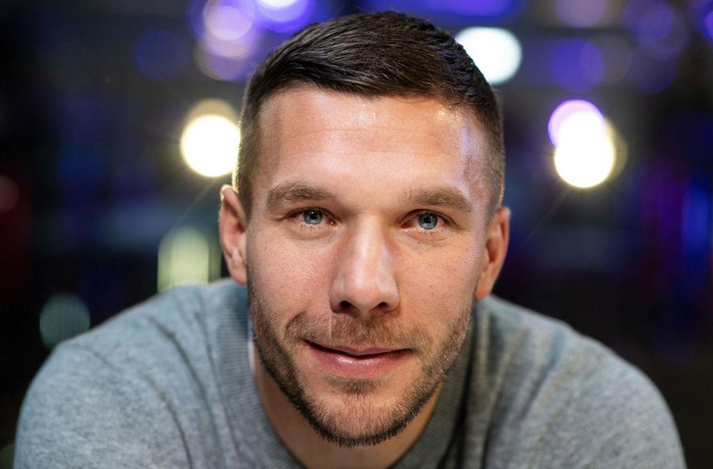 Lukas Podolski hat einen neuen Club. Foto: dpa/Bernd Thissen