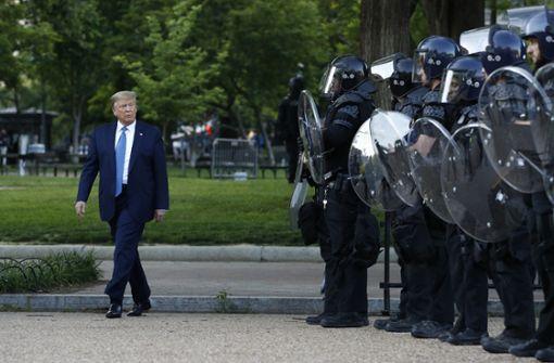 Donald Trump scheint von Militäreinsatz abzurücken
