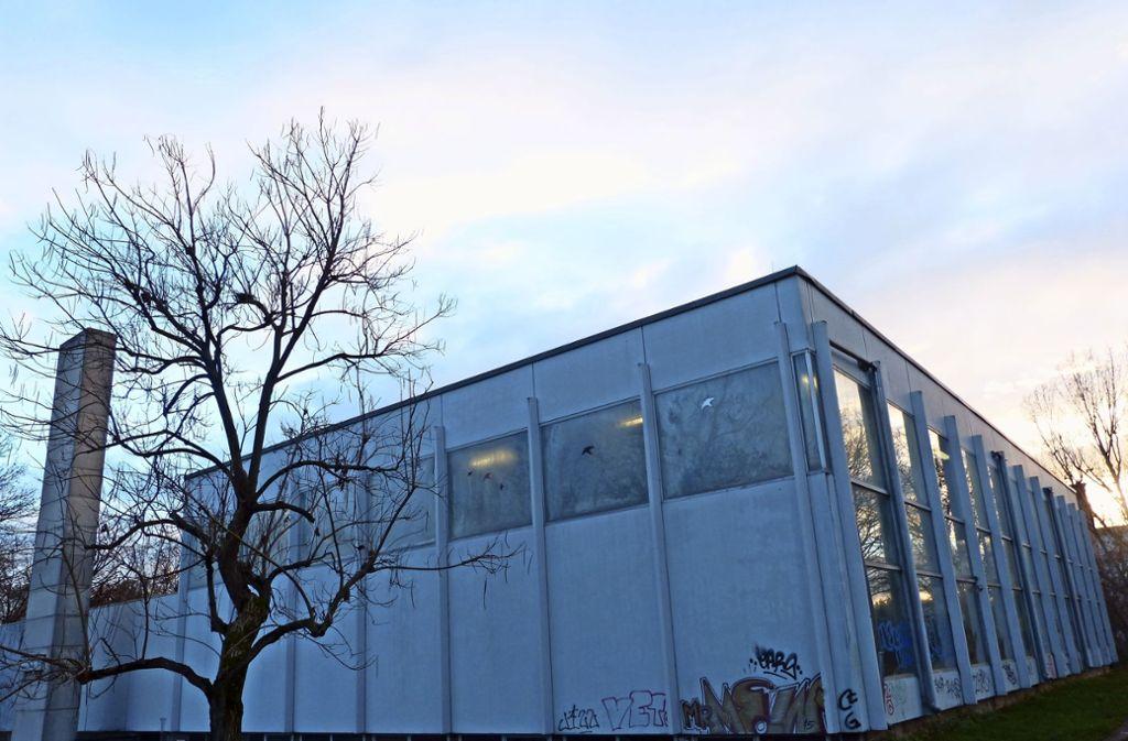 Dort, wo heute noch das Stadtbad  steht, wäre laut Gerhard Veyhl ein guter Standort für ein Bürgerhaus. Foto: Nagel