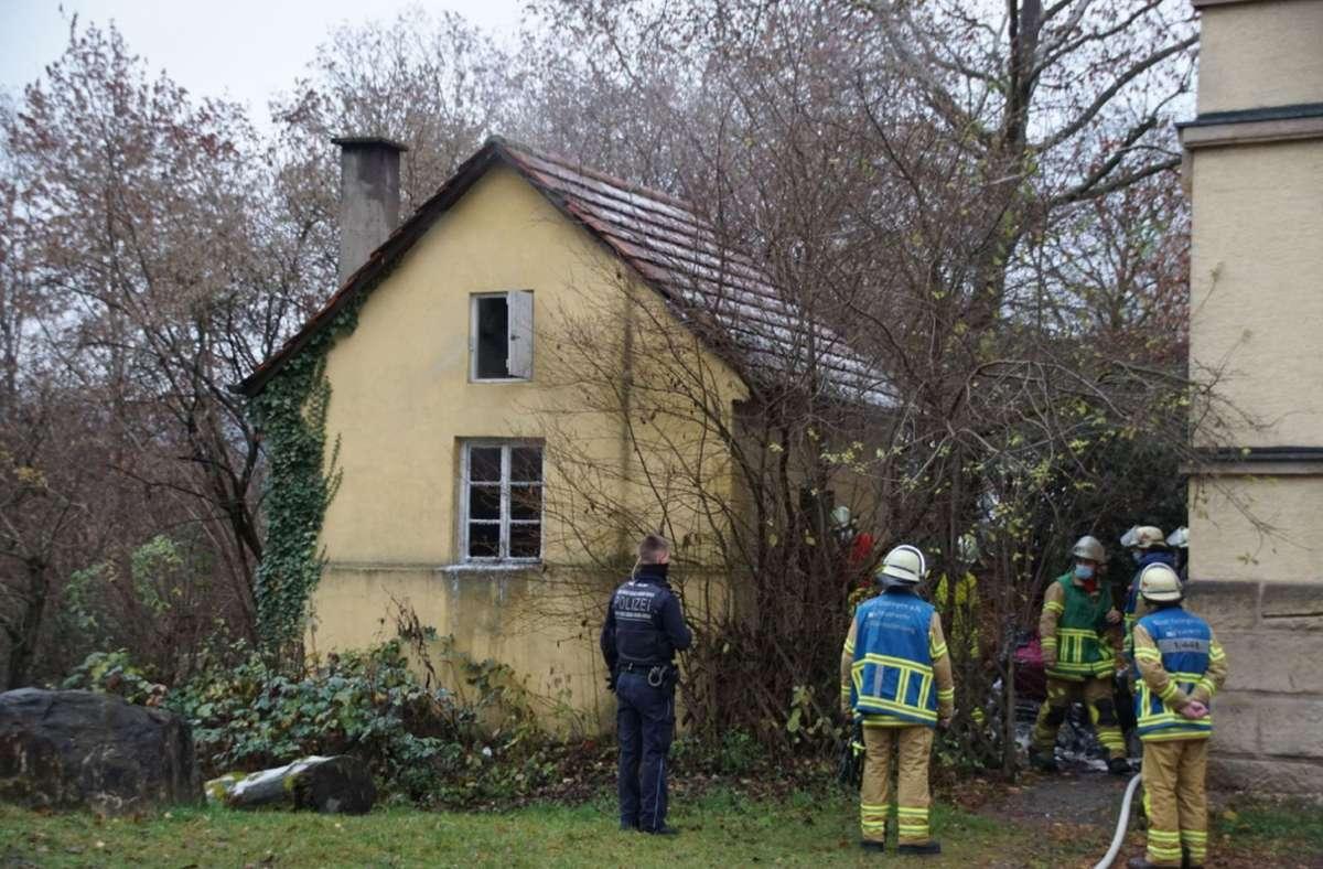 Die Feuerwehr wurde am Mittwochmorgen zu einem Brand in der Stuttgarter Straße in Esslingen gerufen. Foto: /SDMG / Boehmler