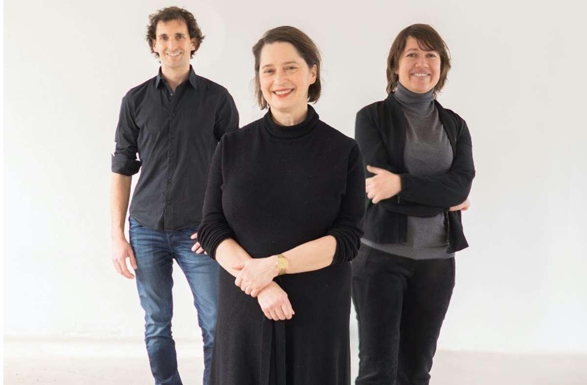 Neuer Vorstand:  Daniel Niccoli, Ania Corcilius und Anna Schiefer (von links). Foto: Florian Model