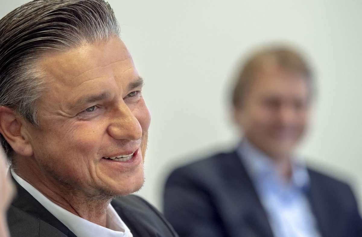 Lutz Meschke übernimmt den Posten im Vorstand der Holding Porsche SE Foto: factum/Andreas Weise