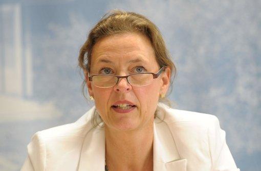 Verfassungsschutzpräsidentin Beate Bube sagt, ihre Behörden habe dem NSU-Untersuchungsausschuss nicht willentlich Unterlagen vorenthalten. Foto: dpa