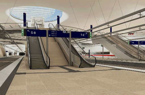 Die Bahn will den Bahnhof bevölkern