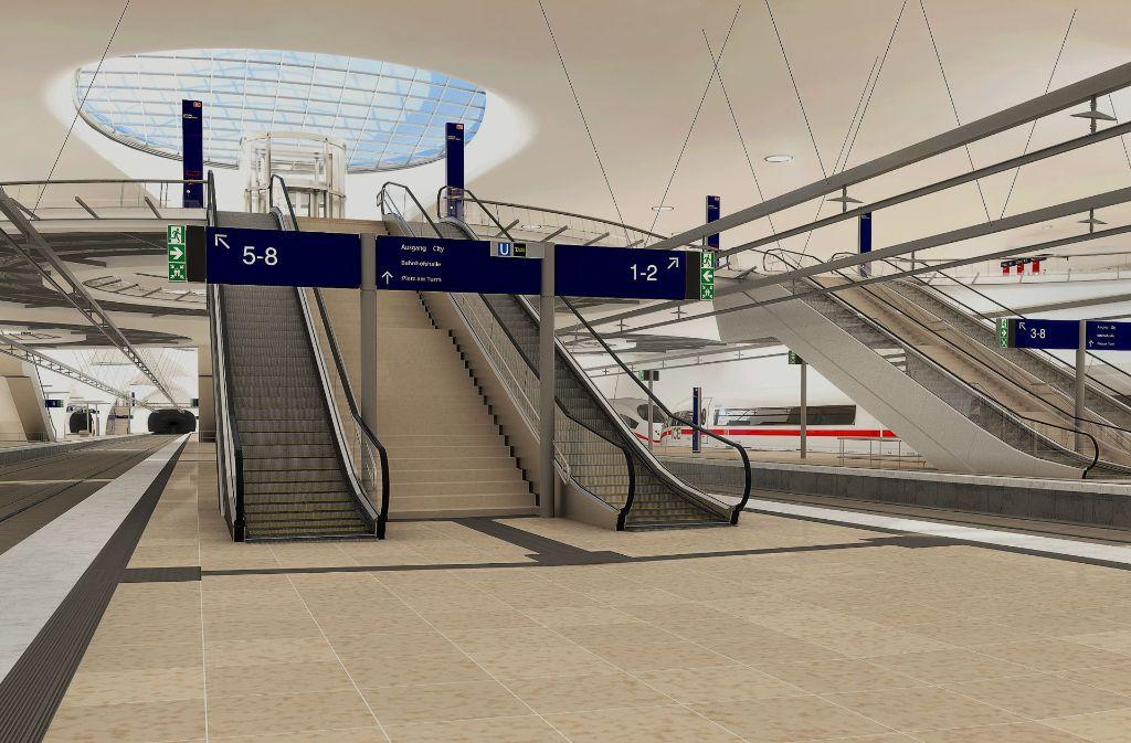 Wenig los im Bahnhof – das soll sich nun ändern. Foto: plan b