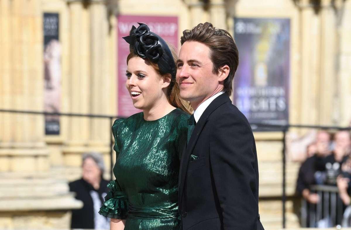 Prinzessin Beatrice und ihr Mann  Edoardo Mapelli Mozzi Foto: imago images / PA Images/Doug Peters