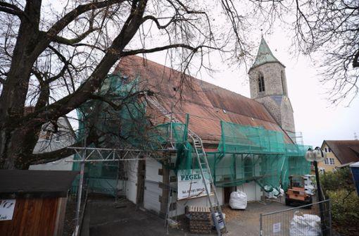 Zuschuss für  die Stiftskirche
